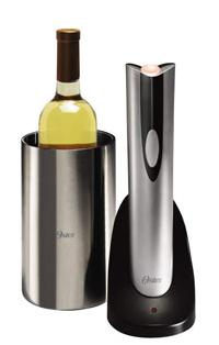 Amazon Best Seller- Oster Electric Wine Bottle Opener & Wine Chiller